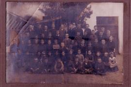 1920er Schulbild Jahrgang 1913 2HJ