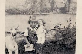 1940 Kindergarten Maria Rechnitzer 43M