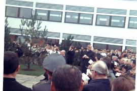 1968 Eröffnung Hauptschule Zurndorf 5P