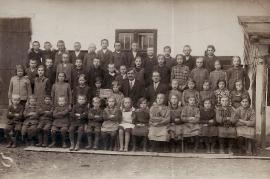 1930er Schulbild Jahrgang 1918 65ZA