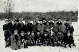 1960 am Obloß 1.a Kl. Hauptschule Jahrgang 1949/50 70DW