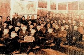 1910er Schulklasse Jahrgang ? Lehrer Ziniel 71M