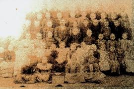 1900 Schulklasse Jahrgang?. 72M