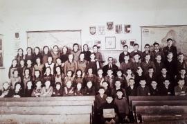 1932 Schulbild Jahrgang 1927-28 Lehrer Thomaschitz