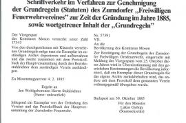 1885 FF Zurndorf Statuten