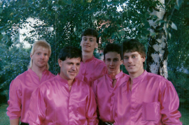 1988 Lustige  Buam L. Darasz, R. Meidlinger, W. Dürr jun. M. Dürr, E. Glabonjat 11LUB