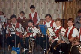 1997 Blasmusikabend mit der KBZ 63NIT