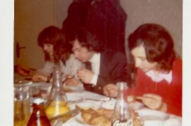 1972 Fasching Sonntag im Gasthaus Thell ?, K. Meidlinger, A. Dürr 62DW