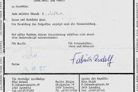 1985 Sportler Maskenball SK Pama Vereinbarung 81DW