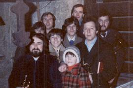 1981 Posaunenchor  24.12. Turmblasen 2 5POSK