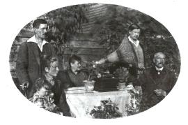 1920er 11SG Fam. J. Schusterreiter, Fam. Rauscher