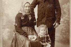 1920 M. Thaller's Großeltern 13T