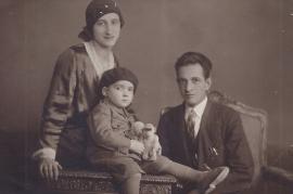 1921  Anton Beck mit Familie 176RW