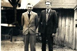1938 bei der Tanzhütte 4ST
