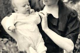 1950er M. Dürr, geb. Szitnik, Marianne Dürr 3MM