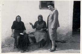 1950er Susi Dax, K. Pamer, S. Dax (Gattinger)  45LEN
