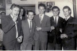 1950er J. Massl, A. Kurucz, H. Heidovitsch, Sandor Magyar, Hans Magyar 4HEI