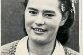 1955 Frida Schusterreiter in Zurndorf (Foto J. Zeugner), 72SG