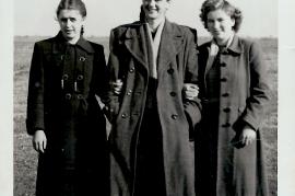 1960er H. Scherhaufer, E. Meixner, G. Horvath (Schmitzhofer) 17UNGR