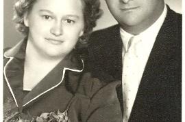 1956er Hochzeitsfoto 18MP