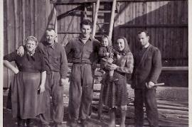 1960 Fr. Muth, M. Pamer, J. Ettl, Fr. Amri,Hr. Amri, 19EDA