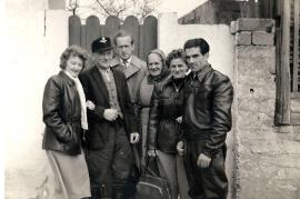 1960er J. Schmidt, J. Schmidt jun., K. Schmidt, A. Schranz, F. Schranz 28Z