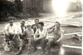 1964 M. Pamer, M. Schicker (Taxi Schicker), M. Kaipl, J. Ettl, H. Zapfl, F. Dürr 3ZA