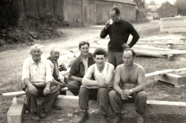 1964 M. Pamer, M. Schicker (Taxi Schicker), J. Ettl, H. Zapfl, W. Wendelin, F. Dürr 4ZA