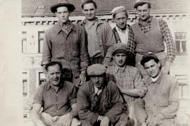 1960er Maurerpartie h.3.v.l. J. Schmidt 61ZA