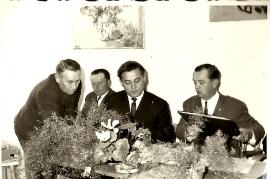 1964 Gr. Sitzung A. Bauer, E. Toth, P. Ebner, A. Kammer 8P
