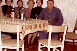 1980 v.l. M. Falb, I. Zapfl (Meixner), ?, E. Meixner, P. Schmitzhofer 127ML
