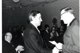 1974 F. Frank Volksschuldirektor, J. Zechmeister 20ZJ