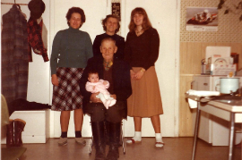 1980 5 Generationen E. Zapfl, H. Kaipl, H. Reif, J. Schmidt, P. Reif 32Z