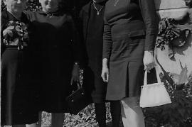 1974 Ausflug Fr. Rechnitzer, A. Resch, Fr. Michitsch,  G. Weiss 37FR