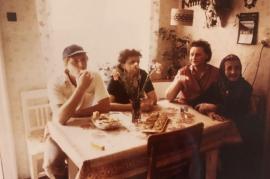 1980er Kurt Muckenhuber Hilda Muckenhuber Ruth Pamer ur-Oma E. Pamer 1SP
