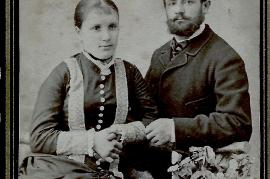 1890 Elisabeth Privitsch gest. 1895 1. Frau v. M. Prominzer , Martin Prominzer 232PM