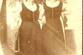 1935 Volkstanzgruppe Zurndorf in Innsbruck 154BA