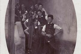 1930er Volkstanzgruppe Zurndorf 16HEI