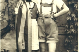 1933 Volkstänzerin li. M. Müllner 70BA